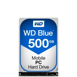 Western Digital Blue PC Mobile 500Go Série ATA III disque dur