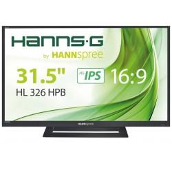 "Hannspree Hanns.G HL 326 HPB 32"" Full HD TFT Noir écran plat de PC"