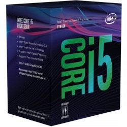 Intel Core ® ™ i5-8400 Processor (9M Cache, up to 4.00 GHz) 2.8GHz 9Mo Smart Cache Boîte processeur