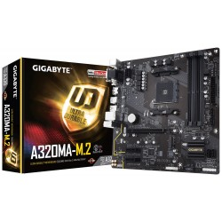 Gigabyte GA-A320MA-M.2 AMD A320 Socket AM4 Micro ATX carte mère