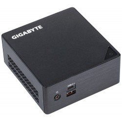 Gigabyte GB-BKi3HA-7100 (rev. 1.0) BGA 1356 2.40GHz i3-7100U 0,6L mini PC Noir