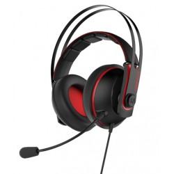 ASUS Cerberus V2 Binaural Bandeau Noir, Rouge Casque audio