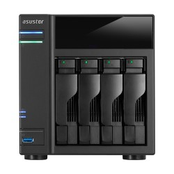 ASUS AS6104T NAS Ethernet LAN Noir