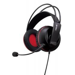 ASUS Cerberus Binaural Bandeau Noir, Rouge Casque audio