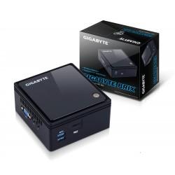 Gigabyte GB-BACE-3150 barebone PC poste de travail BGA 1170 1,6 GHz N3150 Bureau Noir