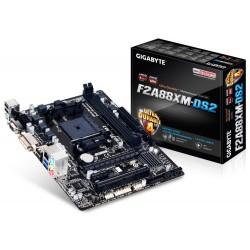 Gigabyte GA-F2A88XM-DS2 carte mère Socket FM2+ AMD A88X Micro ATX