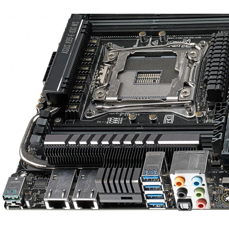 Asus X99 E 10g Ws Serveur Station D Accueil Carte Mere Lga 2011 V3 Intel X99 Ssi Ceb