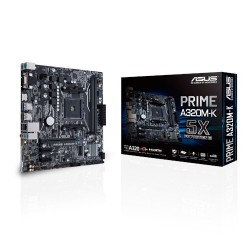 ASUS MB PRIME A320M-K Emplacement AM4 AMD A320 Micro ATX