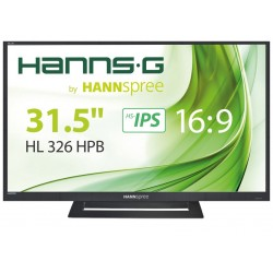 "Hannspree Hanns.G HL 326 HPB LED display 81,3 cm (32"") Full HD LCD Noir"