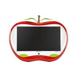 "Hannspree HA 195 HPR LED display 47 cm (18.5"") WXGA LCD Mat Rouge, Blanc"