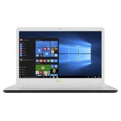 "ASUS VivoBook X705UA-BX246T 2.4GHz i3-7100U 17.3"" 1600 x 900pixels Blanc Ordinateur portable notebook"